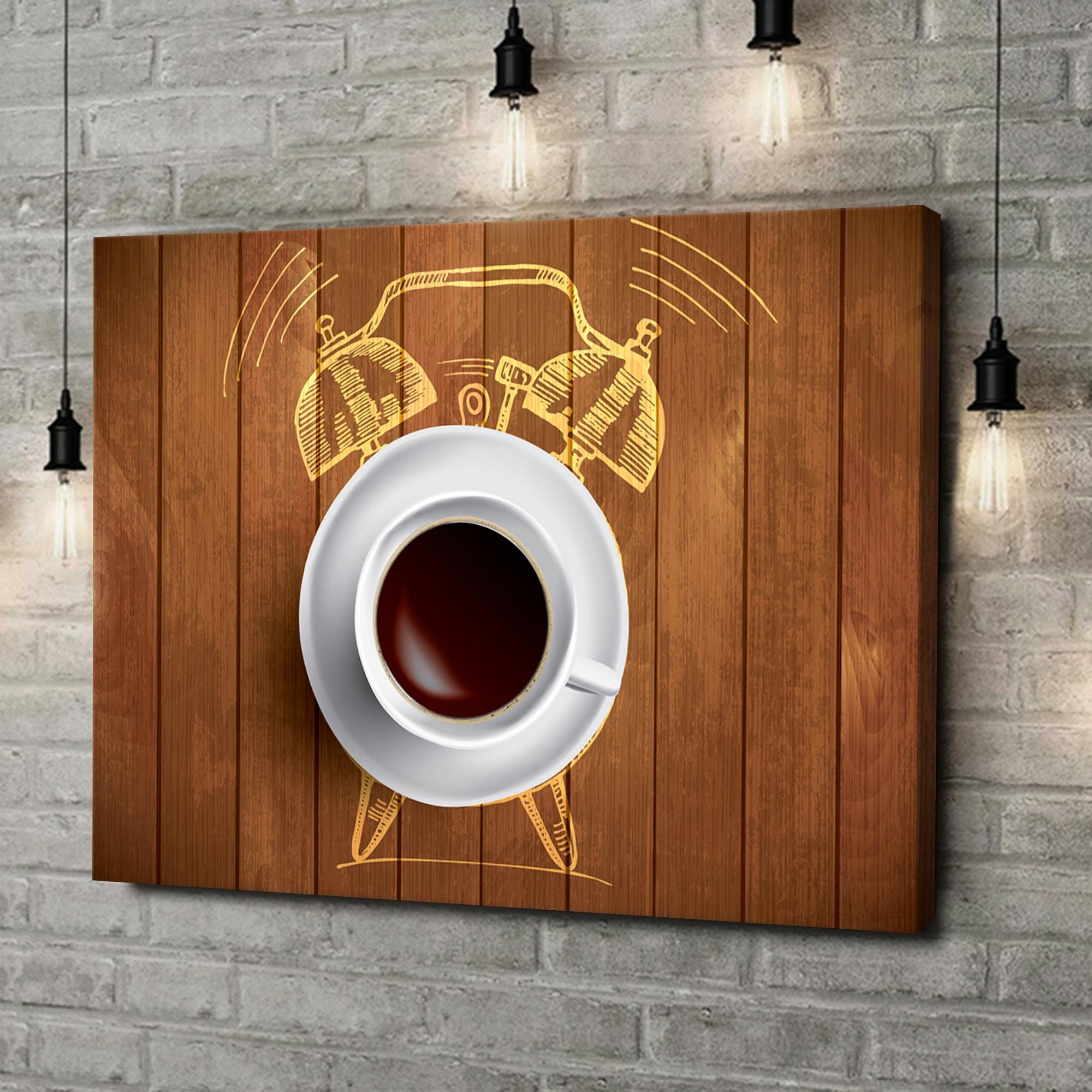 Leinwandbild personalisiert Kaffeewecker
