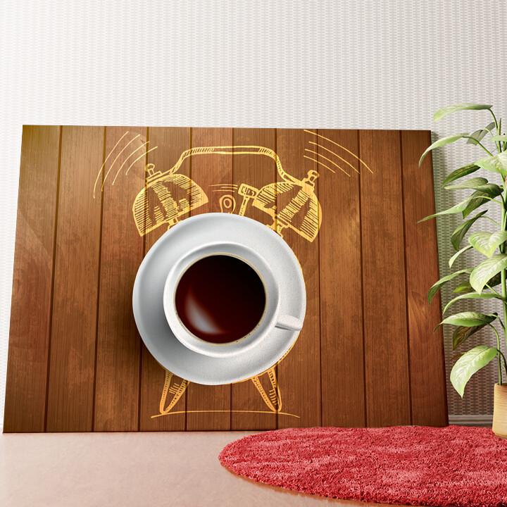 Personalisiertes Wandbild Kaffeewecker