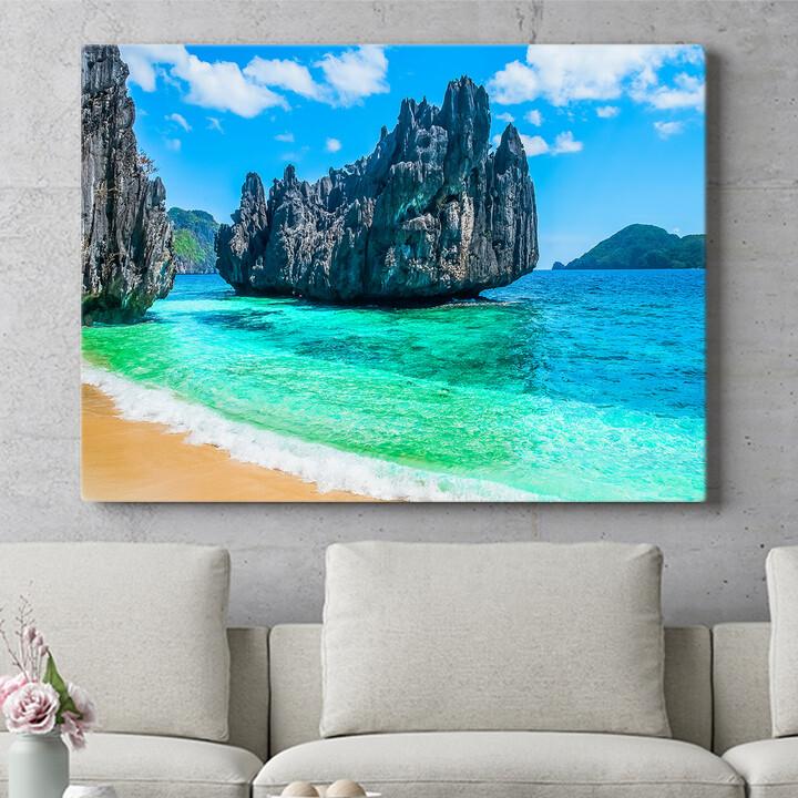 Personalisierbares Geschenk Philippinischer Strand