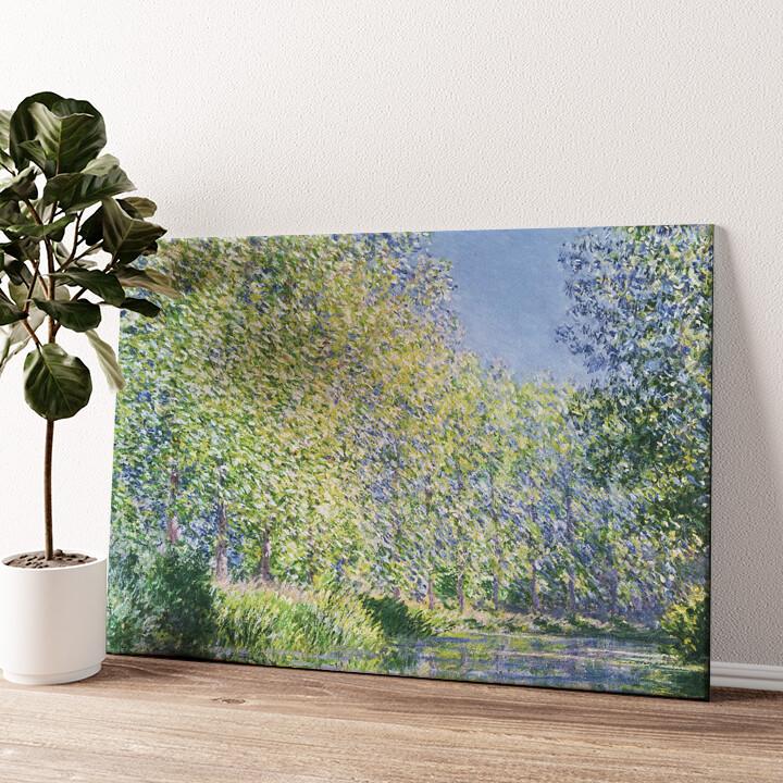 Eine Biegung der Epte bei Giverny Wandbild personalisiert
