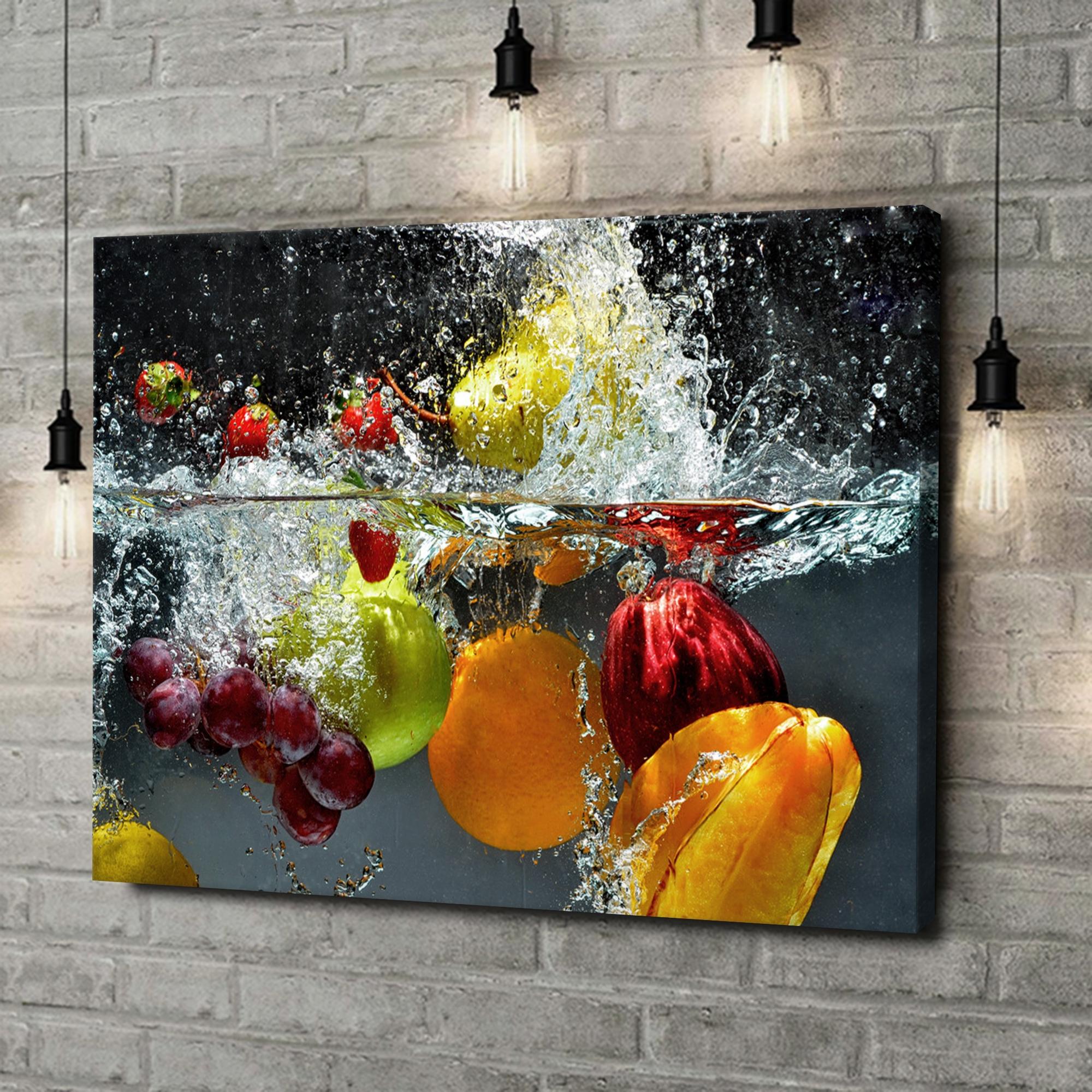 Leinwandbild personalisiert Frische Früchte