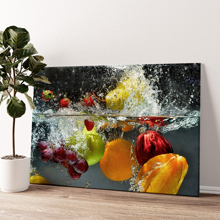 Frische Früchte Wandbild personalisiert