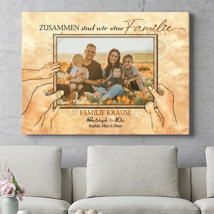 Personalisierbares Geschenk Beste Familie der Welt